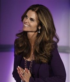 Maria Shriver, a person I really admire.