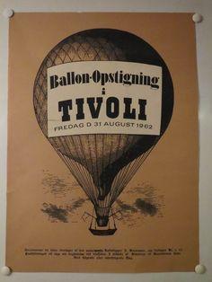 Tivoli, Danish Design & Posters Tivoli Copenhagen, Tivoli Gardens, Design Posters, Danish Design, Vintage Posters, Amp, Poster Vintage, Poster Designs