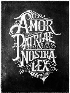 Amor Patriae Nostra Lex by Mateusz Witczak