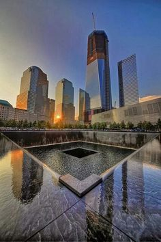 911 Memorial, New York City, NYC New York City Travel Honeymoon Backpack Backpacking Vacation Ground Zero Nyc, New York City, Ville New York, Voyager Loin, 11. September, Photos Voyages, City That Never Sleeps, World Trade Center, Trade Centre