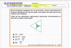 Ejercicios de matemáticas para secundaria