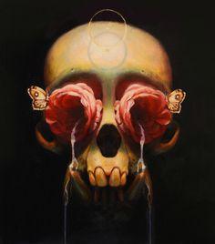 As pinturas surrealistas soturnas de Martin Wittfooth