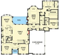 European Elegance - 36203TX | Architectural Designs - House Plans