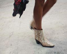 #spacecowboy boots #ganni #ganniss17 #cphfw