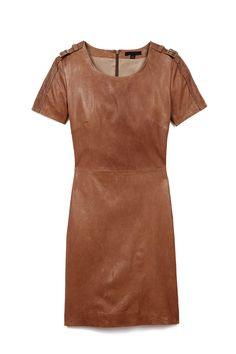 Rachel Zoe Luella Leather Dress
