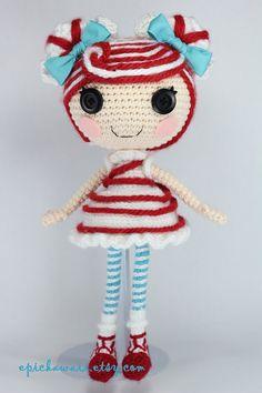 PATTERN: Mint Crochet Amigurumi Doll от epickawaii на Etsy