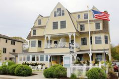 The Tides Beach Club on Goose Rocks Beach Kennebunkport ME Maine New England, Architectural Elements, Beach Club, Rhode Island, Kennebunkport Maine, Vacation, Mansions, House Styles, Places