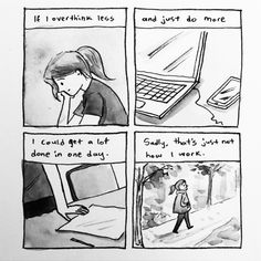 Journal comic. Inktober day 7.
