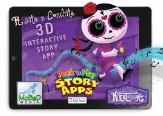 Spanglish Baby's collection of fun apps for Dia de Muertos.