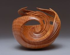 Phoenix Rising, 2008, by Leon Lacoursiere;  Curly Maple