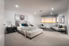 If you fancy a huge master suite with beautiful ocean views, the Azur display home in Iluka is well worth a visit this weekend. Living Area, Living Room, Study Nook, Display Homes, Open Plan Living, Home Theater, Master Suite, House Plans, House Design