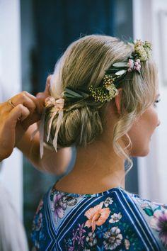 Natural Wedding Hair - Brisbane Wedding Weekly - Hair: Hair By Lara Holmes   Image: Kait Photography