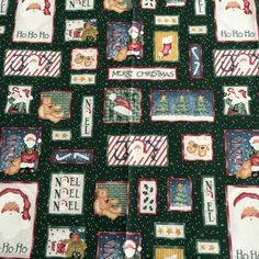 HTF Daisy Kingdom Fabric Christmas Country Santa Patch    eBay