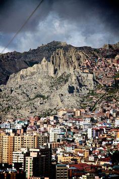"""La Paz, Bolivia. À lire dans """"l'impasse"""" des nouvelles mordantes de madeleine Ruh #free #smashwords"""