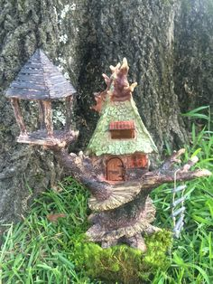 Tree House Fairy or Gnome House
