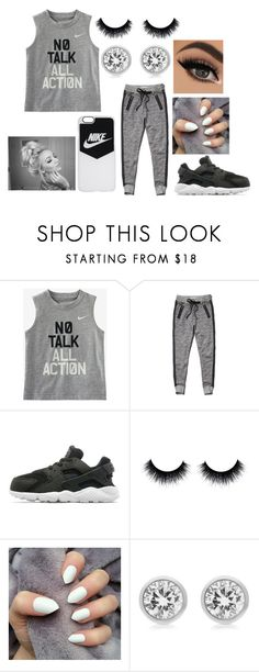 """Untitled #305"" by xoxoryssa ❤ liked on Polyvore featuring NIKE, Abercrombie & Fitch and Michael Kors"