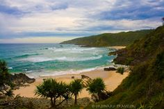 Kings Beach, Australia — by Christy Woodrow. Kings Beach in Australia is a secluded cove that can be reached by a short hiking trail from Broken Head Holiday. Camping In England, Camping In Ohio, Coast Australia, Australia Travel, Books Australia, Places To Travel, Places To See, Road Trip, Adventure Is Out There