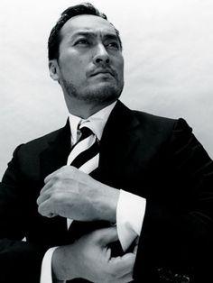 Ken Watanabe: 渡辺 謙 / Born: Kensaku Watanabe, October 21, 1959 in Uonuma, Japan #actor