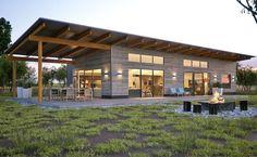 modern dog trot house   google search house plans