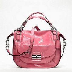 Love the style of this coach bag! I want it just maybe not this color...next on the list :)