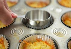 Savory Breakfast Cupcakes Recipe   Quick Dish Recipes