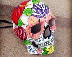 Cráneo de hombre Masquerade máscara día de la por Crafty4Party
