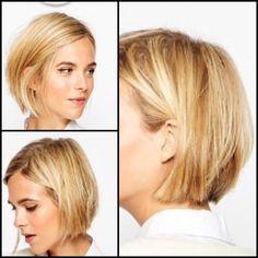 Haircut Bob Long Curly Medium Lengths Ideas For 2019 Short Hair Makeup, Blonde Hair Makeup, Medium Hair Styles, Curly Hair Styles, Easy Hairstyle Video, Bob Hairstyle, Hollywood Hair, Corte Y Color, Great Hair