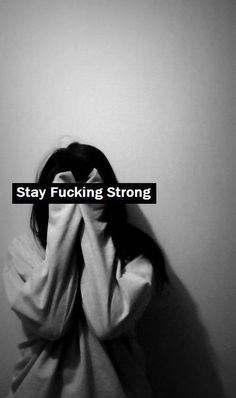 but it's so hard to stay strong...