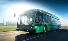 Новый электробус Proterra с запасом ходо 570 км