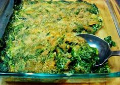 Fresh Spinach Tips and Recipe for Escalloped Spinach | Drick's Rambling Cafe
