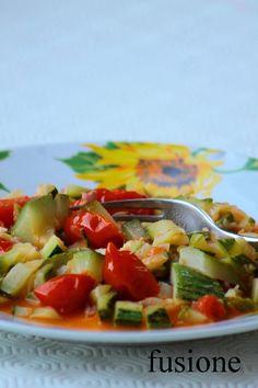 #estate2014 #zucchine in umido, una #ricettaveloce
