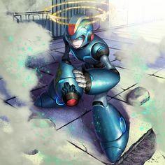 Mega Man, Zero Wallpaper, Megaman Series, Fighting Robots, Gay Art, Video Game Art, Street Fighter, Game Character, Spiderman