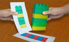 Математическая игра с лего