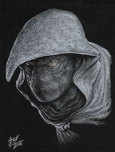 Moon Knight by Andy Gill. Moon Knight Cosplay, Marvel Moon Knight, Comic Book Characters, Comic Book Heroes, Marvel Characters, Marvel Fan Art, Marvel Avengers, Marvel Comics, Graphic Novel Art