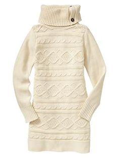 Gap Kids: Cable Sweater Dress (fall/winter '12)