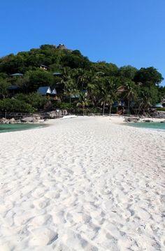 #Nangyuan Island Beach near Koh Tao, #Thailand