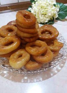 Onion Rings, Greek Recipes, Nutella, Waffles, Sausage, Breakfast, Ethnic Recipes, Food, Morning Coffee