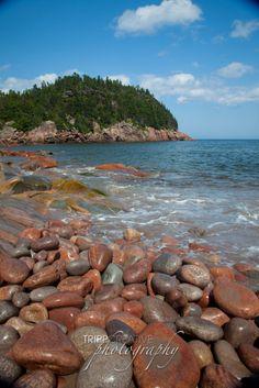 Cape Breton, Nova Scotia by Tripp Creative Photography.I want those rocks! Acadia National Park, National Parks, Saint John New Brunswick, Titanic Museum, Cape Breton, Beautiful Rocks, Fishing Villages, Green Gables, Throughout The World