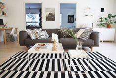 Livingroom and Muuto's sofa