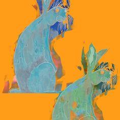 Rabbits by Geckojoy