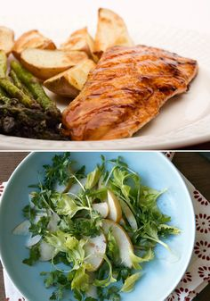 What to Serve with Salmon    Six side dishes—one for each of the half-dozen most popular ways to make this versatile, healthy fish.