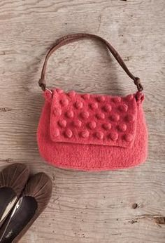 Berry Bag - Knitting Patterns by Deborah O'Leary