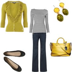 I've been stalking Nautical...but with chartreuse!?!? LOVE!