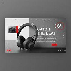 Webdesign - E-commerce & Product page Creative Web Design, Web Ui Design, Page Design, Graphic Design Websites, Web Layout, Layout Design, Affinity Designer, Ui Web, Web Design Inspiration