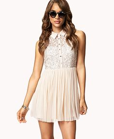 Fit & Flare Tulle Dress - forever 21 $27.80