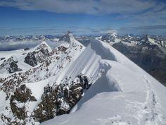 Alpes suizos: Liskamm (4527m)