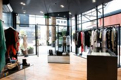 The new flagship fashion store is flanked by leafy urban gardens. Taylormade, Boutiques, Home Decor, Fashion, Boutique Stores, Moda, Decoration Home, Room Decor, Fashion Styles