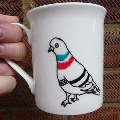 Parmenia-Mug, Hand Drawn