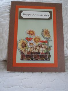 Dollar Tree stickers; cardstock from various companies anniversary cards
