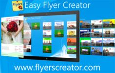 wow Most Advanced & Easy Publishing App Easy Flyer Creator Is Now On Windows Store, That Comes With Templates For Business Flyers, Brochures, Posters, Signs, Certificates